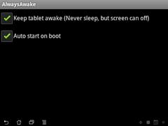 Always Awake (ROOT REQUIRED) 1.1 Screenshot