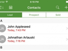 Always Be In Contact - Mobile CRM and Sales Follow Up 2.1 Screenshot