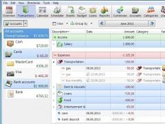 Alzex Personal Finance 5.9 Screenshot