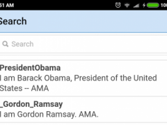 AMA Viewer for reddit 0.0.2 Screenshot