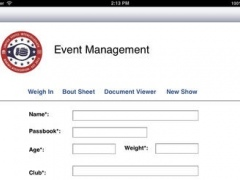 Amateur Boxing Event 1.0 Screenshot