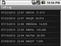 Amateur Radio Call Log 1.2.0 Screenshot