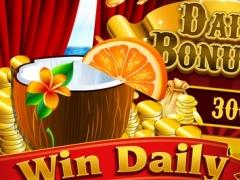Amazing Vacation White Beach Casino Slots Vegas Big Jackpots Games Free 1.0 Screenshot