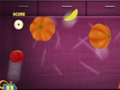 Amazing Vegetable Slasher Chef - new sword slice skill game 1.4 Screenshot
