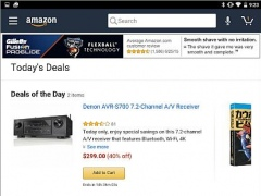 Review Screenshot - Amazon for Tablets – Enjoy Shopping on Amazon on Your Tablet