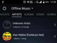 Review Screenshot - Music App – Your One Stop Shop for Music of All Genres
