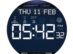 Ambient Light Watch Face Free 1.5 Screenshot