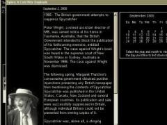 AMC Spies: A Cold War Daybook 2.0t Screenshot