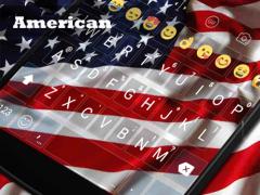 America National Flag Keyboard 1.0 Screenshot