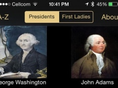 American Presidents and First Ladies 3.0 Screenshot