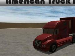 American Truck Parking 3D 1.0.1 Screenshot