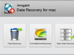 Amigabit Data Recovery For Mac 1.1.0 Screenshot