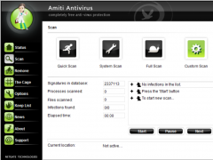 AMITI Antivirus 24.0.950 Screenshot
