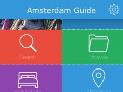 Amsterdam (Netherlands) Guide, Map, Weather, Hotels. 1.0 Screenshot