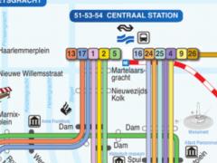 Amsterdam tram and subway 1.7 Screenshot