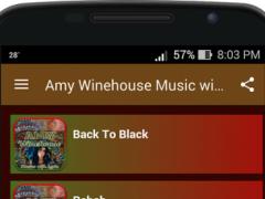 Amy Winehouse Music and Lyrics 1.4.2 Screenshot