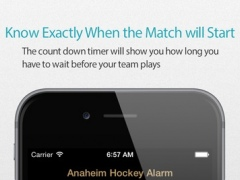 Anaheim Hockey Alarm 1.0 Screenshot