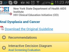 Anal Dysplasia and Cancer 1.2 Screenshot