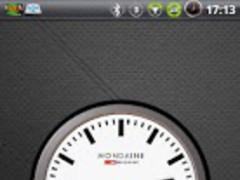 Analog Clock station Widget 1.4 Screenshot