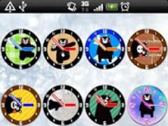 Analog clocks KUMAMON Free 2.1.2 Screenshot