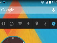 analog clocks zooper skin 1.05 Screenshot
