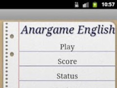 Anargame English 1.0.1 Screenshot