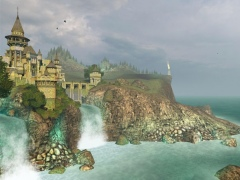 Ancient Castle 3D Screensaver 1.3 Screenshot