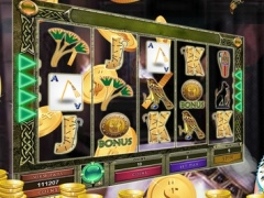 "Ancient Egypt Slot Machine Casino - ""The Way of Fire to Book of Ra"" 1.0 Screenshot"