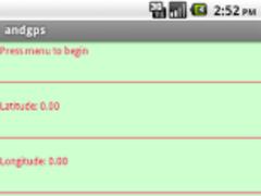andgps 2.4 Screenshot