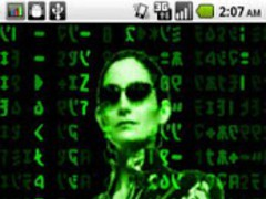 AndMatrix - Live Wallpaper 1.5 Screenshot