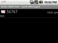 Andro SMSFilter 1.4 Screenshot
