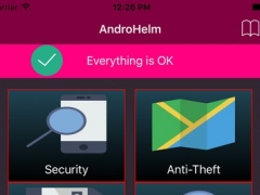 AndroHelm Security Life-License 1.0 Screenshot