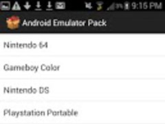Android Emulator Pack 1.2 Screenshot