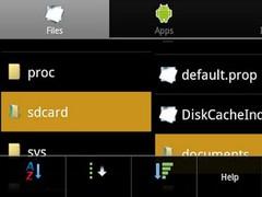 Explorer for Android 1.1 Screenshot