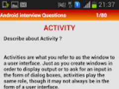Android Interview 1.4 Screenshot