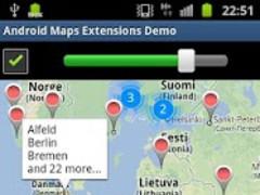 Maps Extensions Demo 1.4.0 Screenshot