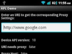 Android Proxy Library Demo 1.0.1 Screenshot