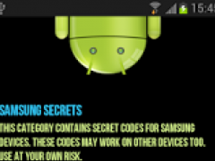 Secret Codes For Android 2.0 Screenshot
