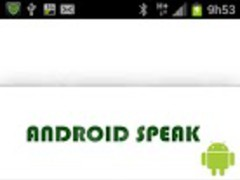 Android Speak TTS 1.0 Screenshot