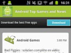 Android Top Games and News 1.0.0 Screenshot
