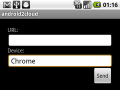 android2cloud 2.0.5.1 Screenshot