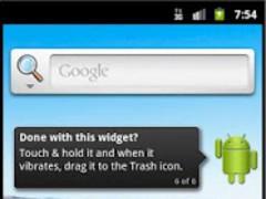 AndroidRss Widget 1.0 Screenshot