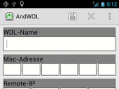 AndWOL 1.8.1 Screenshot