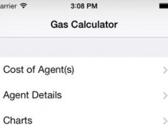 Anesthetic Gas Calculator for iPhone 1.3.2 Screenshot