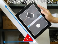 Angle Meter PRO HD for iPad 3.0 Screenshot
