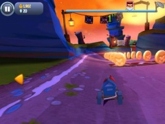 Review Screenshot - Go Kart Racing with Angry Birds and Defeat Your Competition