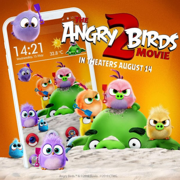 Angry Birds 2 Game Themes Live Free Download