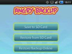 Angry Birds Rio Backup 3.3 Screenshot