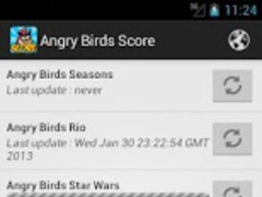 Angry Birds Score 1.0.1 Screenshot