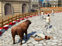 Angry Bull Attack 2017 1.0 Screenshot